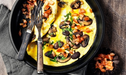 Brunch with Mimosas for Two or Four at Oak Grill (Up to 35% Off)