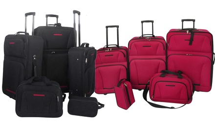 Five-Piece Travel Luggage Set