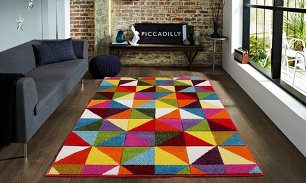 Brights Carved Rug in 8 Designs
