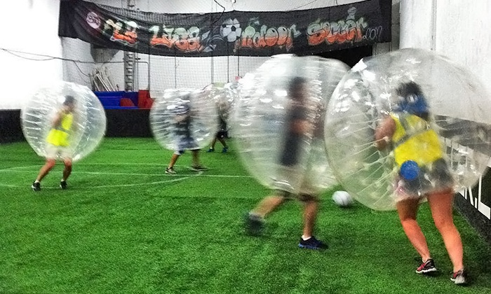 La Liga Indoor Soccer - Remington Park: One Bubble-Soccer Game with 4 or 8 Bubbles or One Hour of Bubble Soccer at La Liga Indoor Soccer (Up to 67% Off)