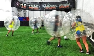 La Liga Indoor Soccer: One Bubble-Soccer Game with 4 or 8 Bubbles or One Hour of Bubble Soccer at La Liga Indoor Soccer (Up to 67% Off)