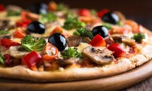 Yacht Bar: Menu pizza con antipasto, dolce e birra sul lago di Garda per 2 o 4 persone da Yacht Bar (sconto fino a 66%)
