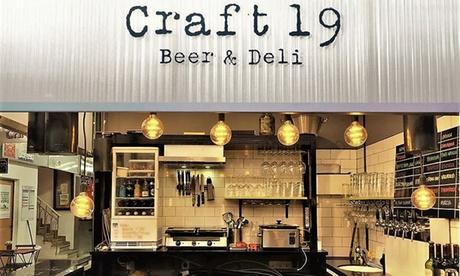 Menú para 2 con principal, guarnición, bebida y opción a cerveza en Craft 19 (hasta 48% de descuento)