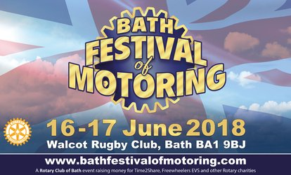image for Bath Festival of Motoring, 16–17 June at Walcot Rugby Ground (Up to 50% Off)