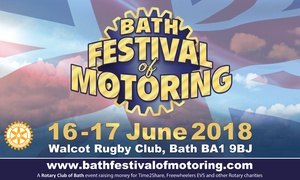 Bath Festival Of Motoring: Bath Festival of Motoring, 16–17 June at Walcot Rugby Ground (Up to 50% Off)