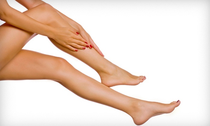 DermaBare - Multiple Locations: Six Laser Hair-Removal Treatments on a Small, a Medium, or a Large Area at DermaBare (Up to 89% Off)