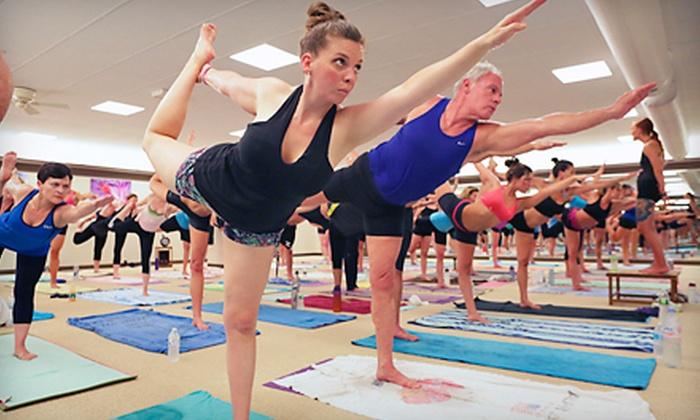 Bikram Yoga Shelton - Shelton: $49 for One Month of Unlimited Classes at Bikram Yoga Shelton ($180 Value)