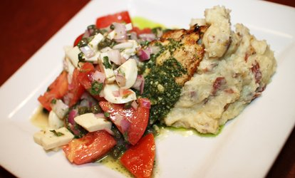 <strong>Italian</strong> Dinner & Drinks for two or more at Caffe Dolce Vita (50% Off)