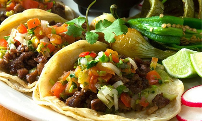 Las Sirenas - Concord-Robert: Mexican Meal for Two or Four with Appetizer at Las Sirenas (Up to Half Off)