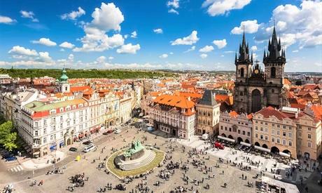 Praga: Estudio o apartamento familiar con opción a desayuno en los Apartamentos de la Corte Real para 2 personas