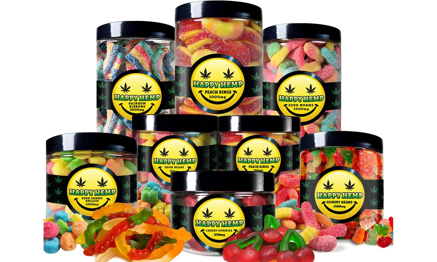 CBD Gummies from Happy Hemp