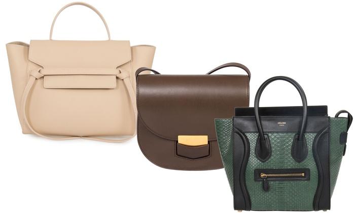 Up To 54% Off on Céline Women s Handbags  73293396efad2