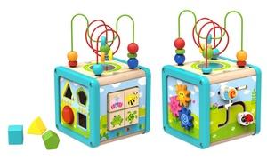 Cube d'activités bois Tooky Toys