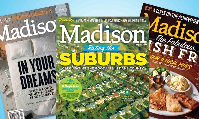 """Madison Magazine: $9 for a One-Year """"Madison Magazine"""" Subscription ($19.95 Value)"""