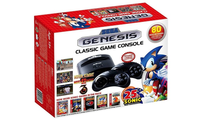 Up to 17 off on sega genesis classic game groupon goods - Sega genesis classic console with built in games ...