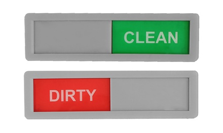 Dishwasher Clean/Dirty Magnets