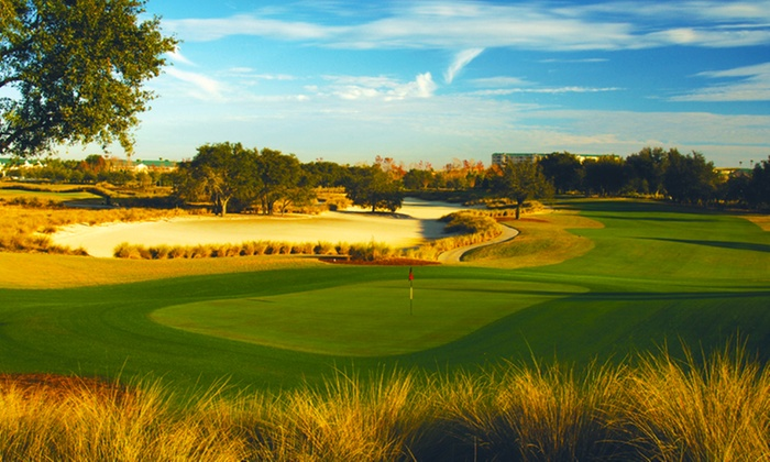 Mystic Dunes Resort & Golf Club - Greater Orlando, FL: Round of Golf for Two or Four with Replay and Range Balls at Mystic Dunes Resort & Golf Club (Up to 65% Off)