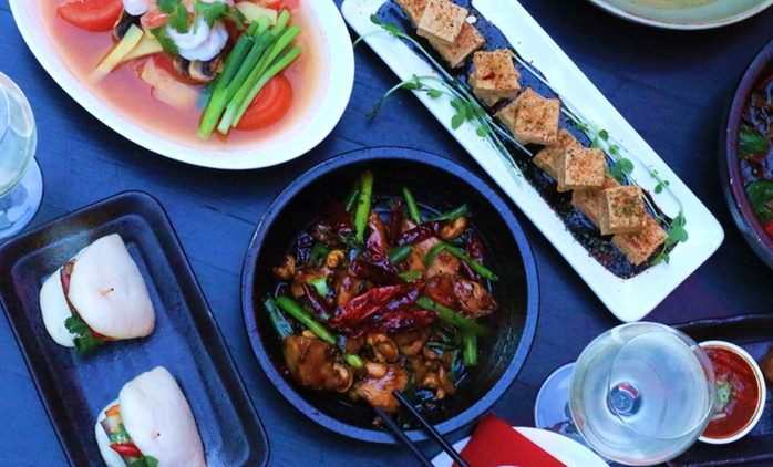 From $49 for a Two-Course Meal with Wine for Two People at LL Wine and Dine, Potts Point (From $128 Value)