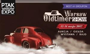 PTAK SA: Od 39,99 zł: jednodniowe bilety na targi pojazdów zabytkowych Oldtimer Warsaw w Ptak Warsaw Expo (do -56%)