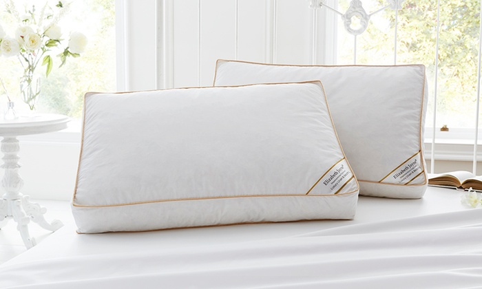 Two, Four or Eight Hotel-Quality Duck Feather Pillows (£12)