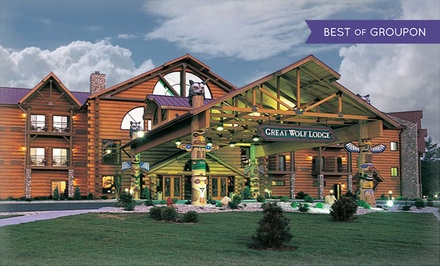Stay with Daily Water Park Passes and Resort Credit at Great Wolf Lodge Williamsburg in Virginia. Dates into March.