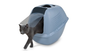 Arm & Hammer Hooded Wave Litter Pan for Cats