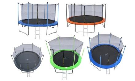 trampolines jump4fun groupon. Black Bedroom Furniture Sets. Home Design Ideas