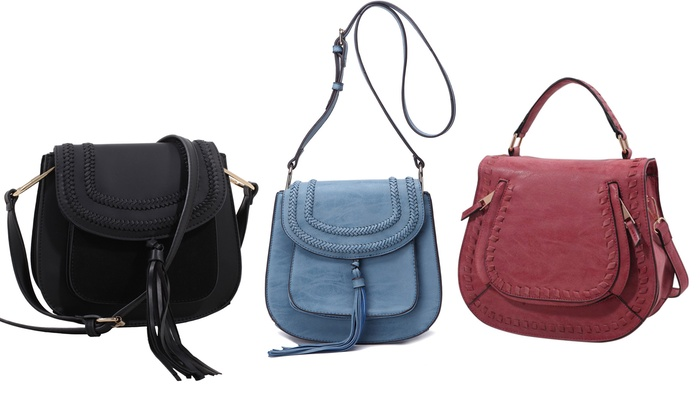 MKF Collection Celebrity Style Saddle Bags