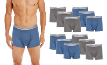 Gildan Men's Trunk Boxer Briefs (8- or 12-Pack)