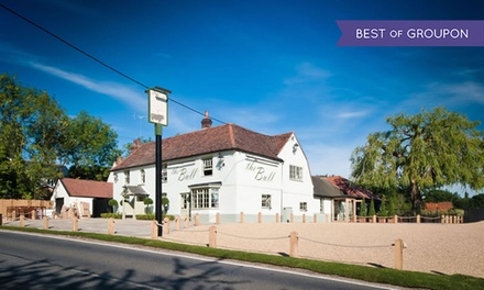 Three-Course Meal with Prosecco or Wine for Two or Four at The Bull and Willow Room (Up to 54% Off)