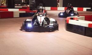 Ikart: Giri liberi o Gran Premio su go kart elettrici nella pista indoor più lunga d'Europa da Ikart (sconto fino a 45%)