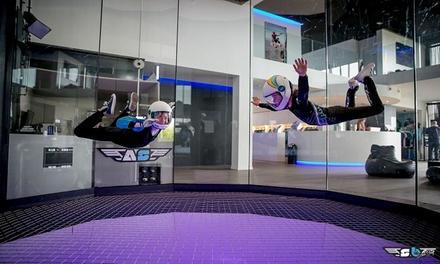 Simulateur de chute libre : 2 min. de vol avec vidéo et photo à 59,99 € avec Airspace Indoor Skydiving