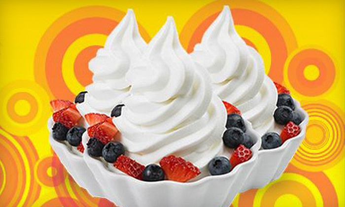 Bad Frog Frozen Yogurt - University Park: $4 for $8 Worth of Frozen Yogurt at Bad Frog Frozen Yogurt