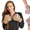 Angelina Plush Animal Paw Fingerless Mittens