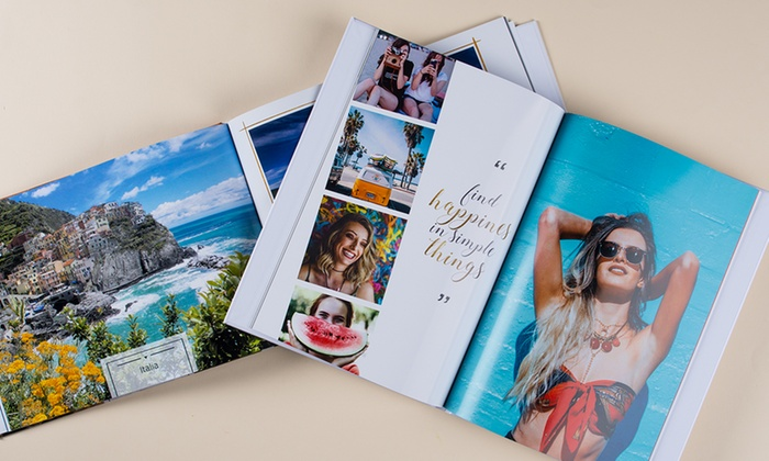 Up to five personalised a4 landscape hardcover photobooks from colorland up to 88 off