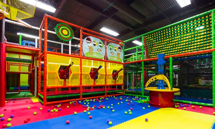 Indoor playground pass or party funtastic playtorium for Cheap indoor play areas
