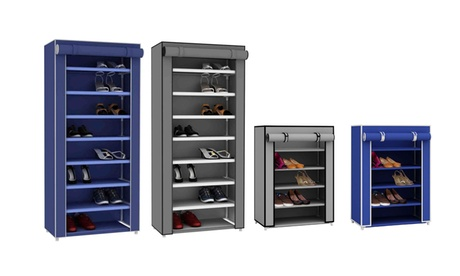 Sunbeam Shoe Closet with Dust-Free Cover