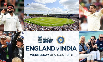 England v India, 1 August at Edgbaston Cricket Stadium