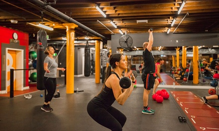 1-Month Gym, Class and Pool Access + PT Session for One ($19) or Two Ppl ($35) at Your World Fitness (Up to $538 Value)