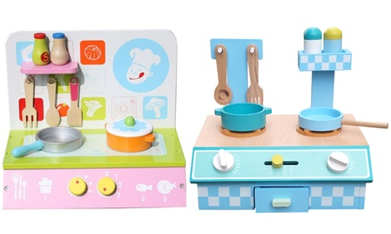Liberty House Toys Kids Wooden Kitchen Table Top