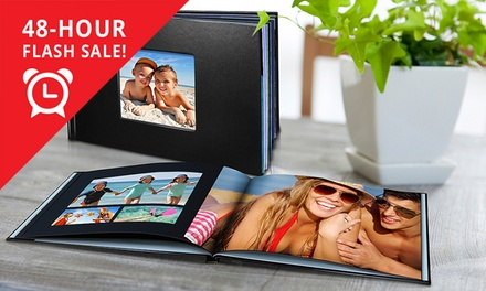 .95 for a Personalised LeatherLook Photo Book, Redeemable Online Don't Pay up to $19.95
