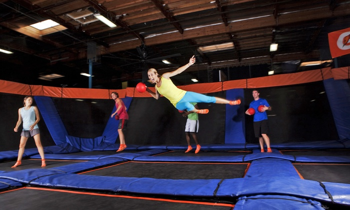 Sky Zone  - Multiple Locations: $15 for a One-Hour Trampoline Session for Two at Sky Zone. Two Locations Available ($30 Value)