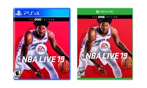 NBA Live 19 for Xbox One or PlayStation 4