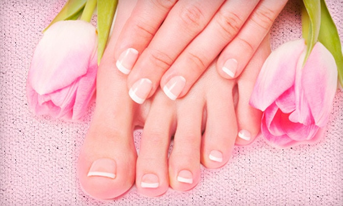 Instyle Salon & Spa - Green Bay: One or Three Classic Spa Manicures or One Express Pedicure at InStyle Salon & Spa (Up to 58% Off)