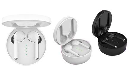 1 o 2 sets de auriculares inalámbricos con tecnología Bluetooth 5.0