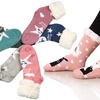 Women's Double Layer Cozy Plush Assorted Winter Socks (2-Pairs)