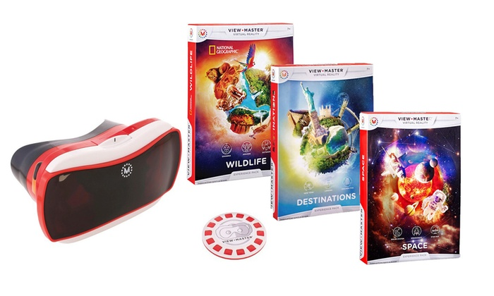 Mattel View-Master Virtual Reality Starter Pack from £15.99
