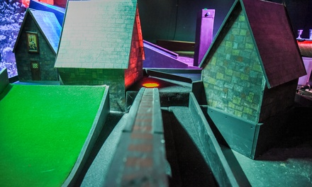 18 Holes of Themed MiniGolf and Hot Dog for Up to Four at Scrapheap Golf