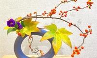 【最大43%OFF】お花はお持ち帰りOK。自宅で生けるポイントも伝授≪生け花体験レッスン約60分(花材費込)/ 1回分 or 2回分 o...