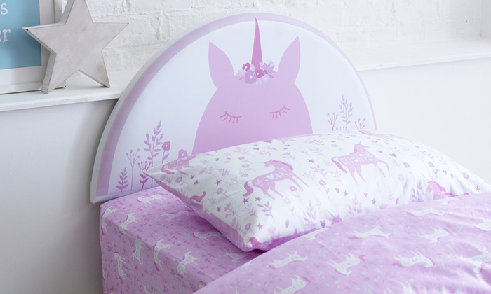 Kid's Single Unicorn Headboard
